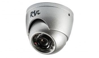 Купить Антивандальная камера видеонаблюдения с ИК-подсветкой RVi-123ME (2.5 мм) в городе Магнитогорск по цене 3050 руб - Мир Электроники