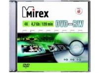 DVD+RW Mirex 4x 4.7 Gb slim