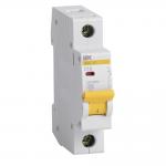Автоматический выключатель 1-фазный 10А х-ка С ИЭК