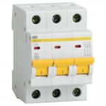 Автоматический выключатель 3-фазный 16А х-ка С ИЭК