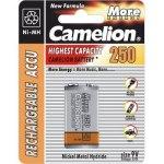 Аккумулятор Camelion 6F22 250mAh 9В Ni-MH