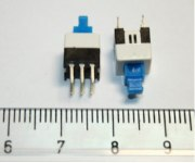Кнопка мини PSM7-0-0  без фиксатора