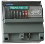 Счетчик переменного тока Меркурий 201.5 электронный
