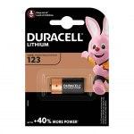 Батарейка Duracell 123 3В