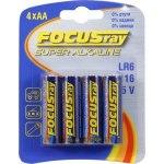 Батарейка Focusray LR6 Alkaline