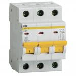 Автоматический выключатель 3-фазный 40А х-ка С ИЭК