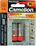 Аккумулятор Camelion R6 2700mAh Ni-MH