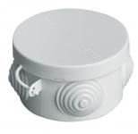 Коробка Hegel КР2601 о/у разветвительная круглая Д65*45мм IP55