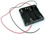 Кейс для 4 батареек АА ВН-341