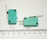 Переключатель MSW-02 on-off 10A/250VAC 3 контакта