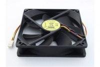 Вентилятор Gembird Fancase3, 12VDC, 120x120х25мм, 3 pin, подшипник качения