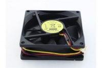 Вентилятор Gembird Fancase/Ball, 12VDC, 80x80х25мм, 3 pin, подшипник качения