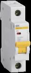 Автоматический выключатель 1-фазный 6А х-ка С ИЭК