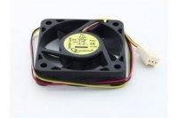 Вентилятор Gembird D50SM-12AS, 12VDC, 50x50х10мм, 3 pin, подшипник скольжения