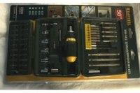Набор Kraftool, 50 предметов, отвертка реверсивная с битами и торцевыми головками
