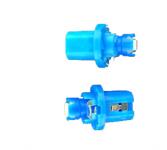 Светодиод Т5, 1smd, панель приборов, с патроном, цвет синий