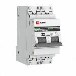 Автоматический выключатель 2Р 32А ЭКФ с опломбировкой