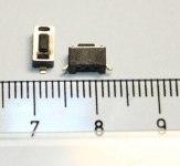 Кнопка тактовая IT-1102WB 6х6х7мм