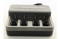 Зарядное устройство Robiton Smart Universal 800-4 Заряжает 2-4 аккумулятора АА/R6, ААА/R03, С/R14, D