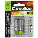 Аккумулятор Camelion R6 1000mAh Ni-Cd