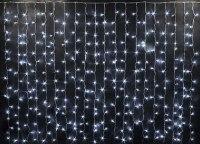 Гирлянда Светодиодный Дождь наружняя 2х1,5м белая, 276 светодиодов RCV