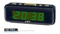 Часы VST 738 сетевые