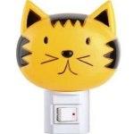 Светильник Camelion ночник NL-003 кошка с выключателем 7Вт