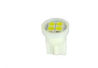 Светодиод Т10, 4smd, габарит, стоп, повторитель поворота, цвет белый