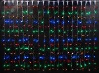 Гирлянда Светодиодный Дождь наружняя 2х3м разноцветная, 432 светодиода RCV