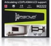 Кронштейн Magnum M2222 10-32, до 30 кг, расстояние телевизора от стены 65-515 мм