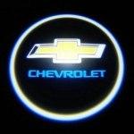 Логотип-проекция Chevrolet