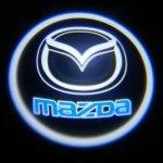 Логотип-проекция Mazda
