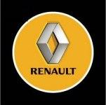 Логотип-проекция Renault