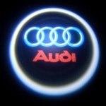 Логотип-проекция Audi