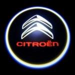 Логотип-проекция Citroen