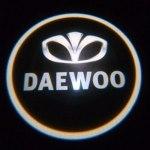 Логотип-проекция Daewoo