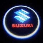 Логотип-проекция Suzuki