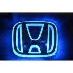 Эмблема Honda с подсветкой, белая