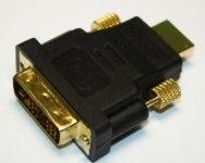 Переходник HDMI шт. - DVI шт.