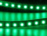 Светодиодная лента 3528/120 водонепроницаемая IP65 зеленый 9,6W 12VDC REZER