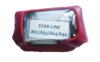 Чехол для брелока StarLine A62,A92,А94 Dialog, цвет красный