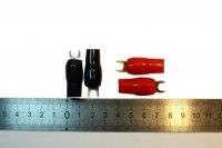 Клемма ножевая Mystery 4GA spade 25мм