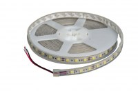 Светодиодная лента 3528/60 водонепроницаемая IP65 холодный белый 4,8W 8-10Lm 12VDC REZER LUX