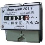 Счетчик переменного тока Меркурий 201.7 электронный
