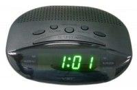 Часы VST 908-4 сетевые зеленые