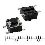 Кнопка тактовая IT-1102WA 6х6х5мм