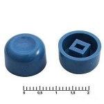 Колпачок для кнопки A01 синий