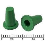 Колпачок для кнопки A07 зеленый