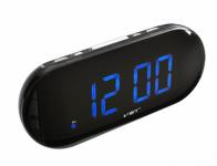 Часы VST 717-5 сетевые синие