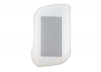 Чехол силиконовый для брелока StarLine A63, A93 Dialog, цвет прозрачный
